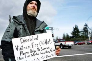 disabled vet who is homeless